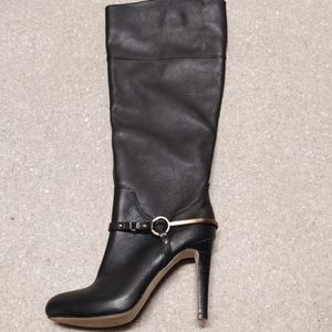 ISOLA tall black boots barely worn